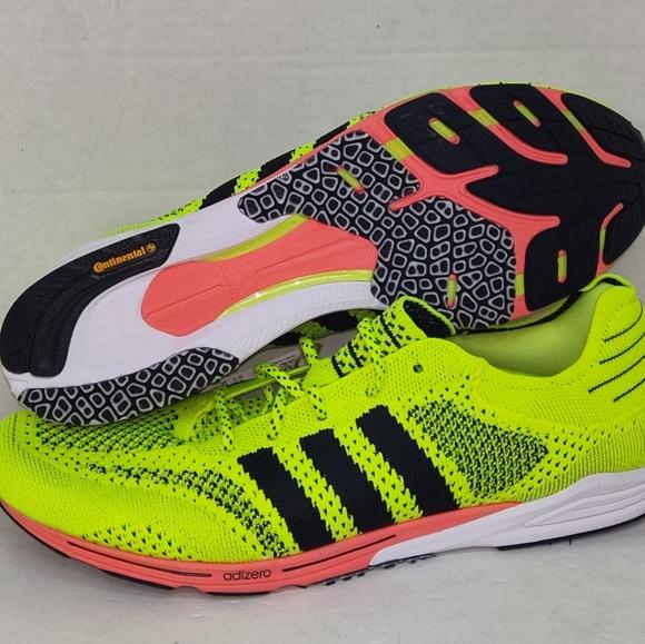 adidas Running Adizero Prime Sport Solar Yellow